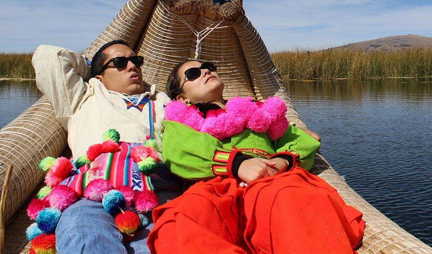 Homestay at Uros island & Taquile 2 Days